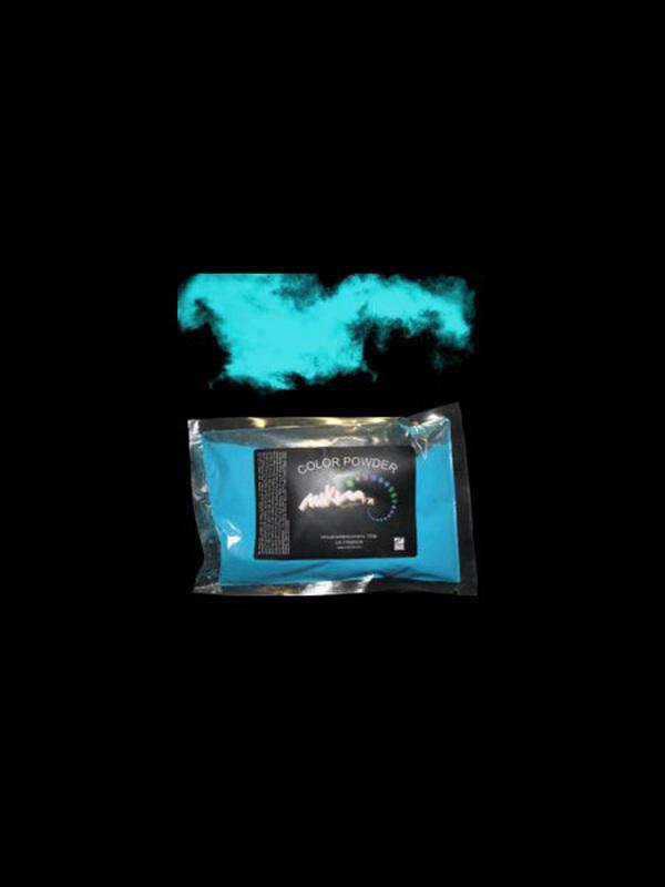 Holi poeder blauw 100 gram