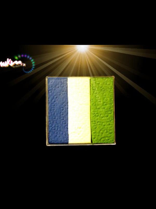 Groen-wit-blauw