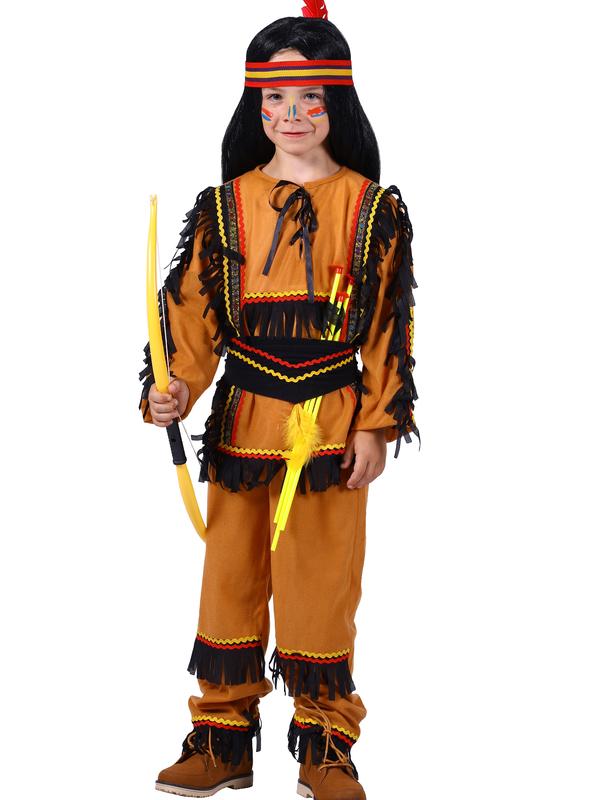 indianen kostuum jongen
