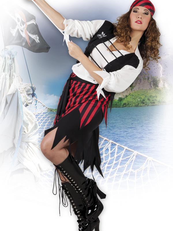 piraten  kostuum vrouw